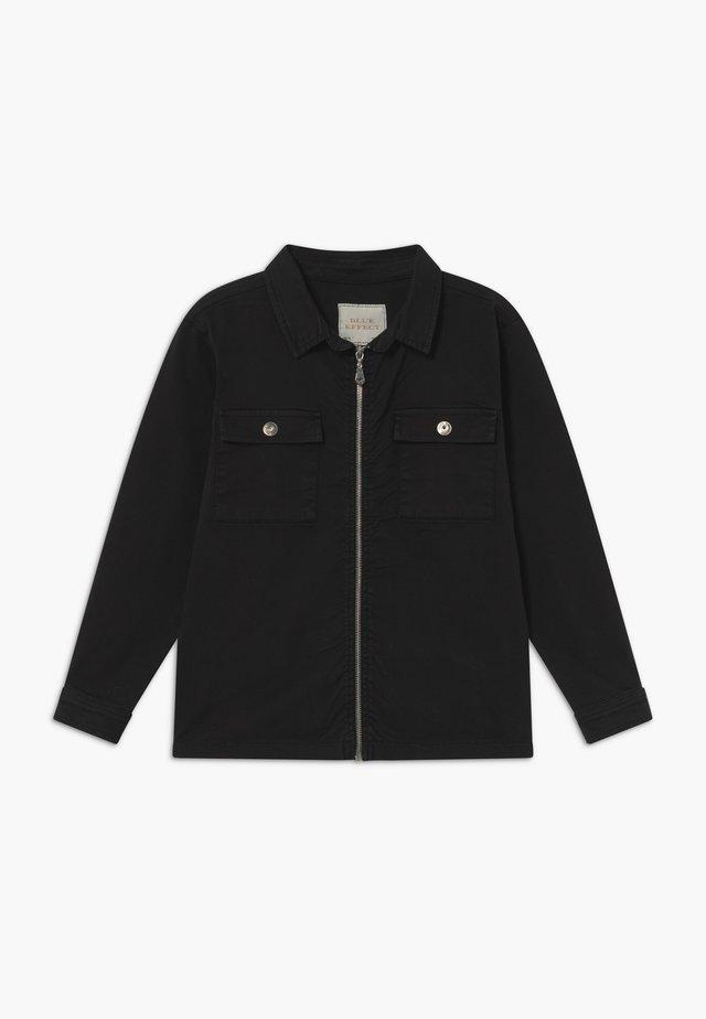 BOYS - Denim jacket - schwarz reactive
