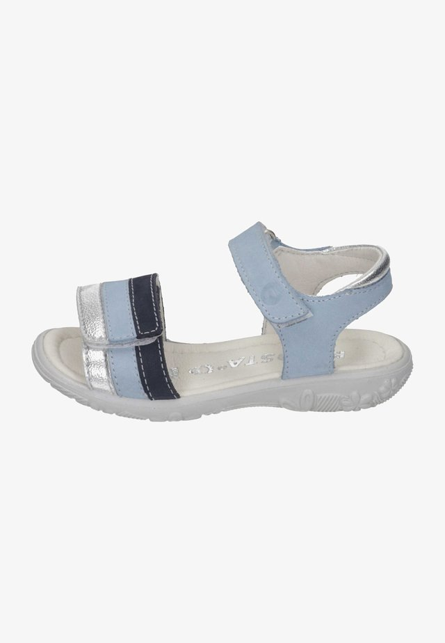 CLAIRE - Sandals - himmel/silber