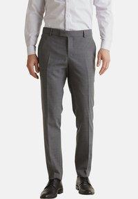 Esprit Collection - ACTIVE - Suit trousers - dark grey - 5