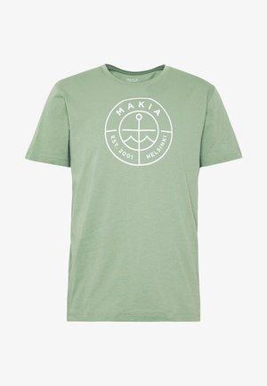 SCOPE  - T-shirts print - olive
