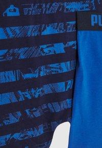 Puma - KIDS COLLAGE STRIPE BOXER 2 PACK - Pants - blue - 4