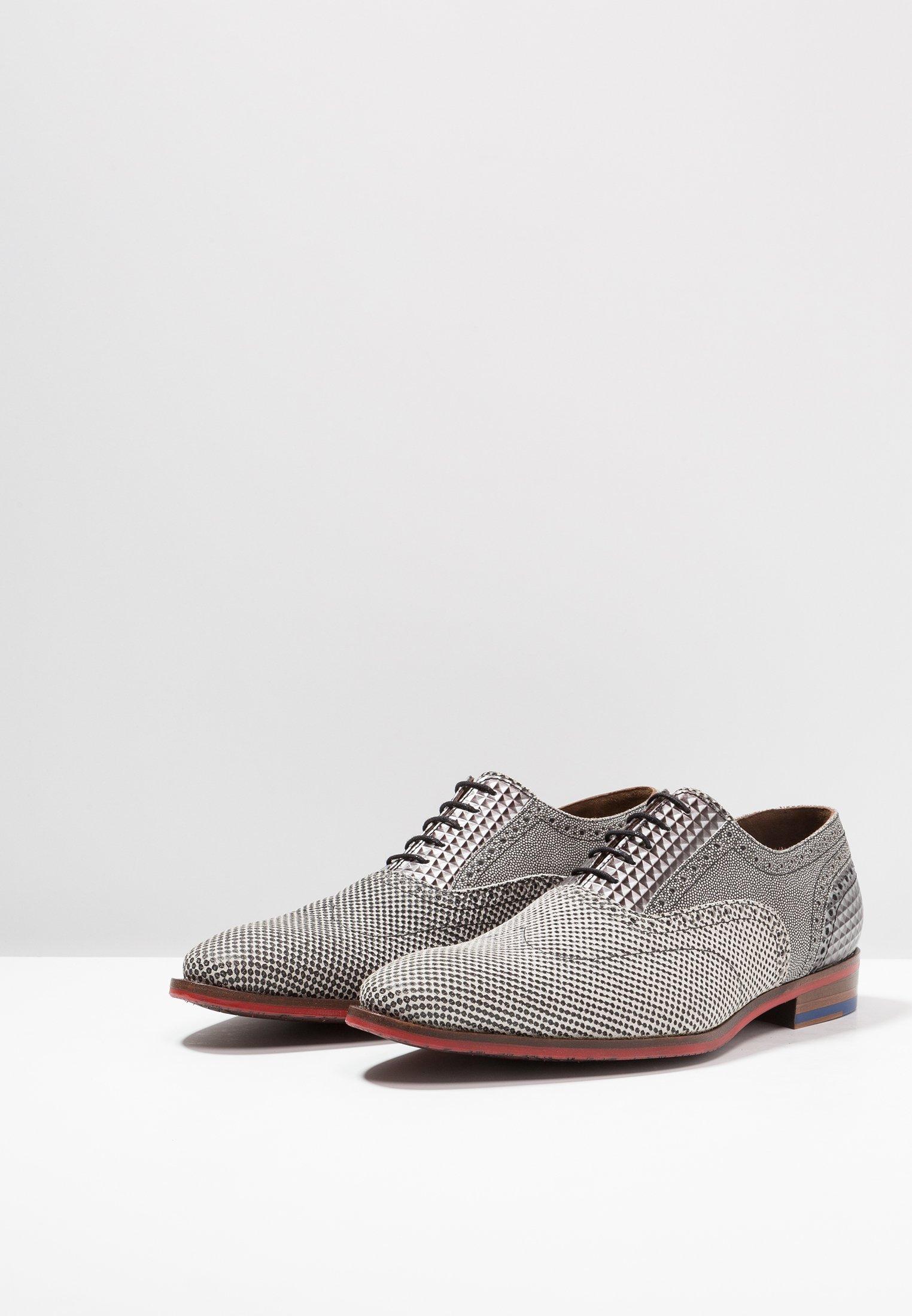Auténtico Floris van Bommel Zapatos de vestir - grey | Zapatillas de hombre 2020 v99xK