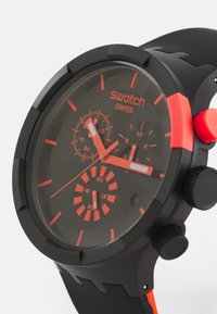 Swatch - RACING PASSION - Chronograph watch - black/red - 3