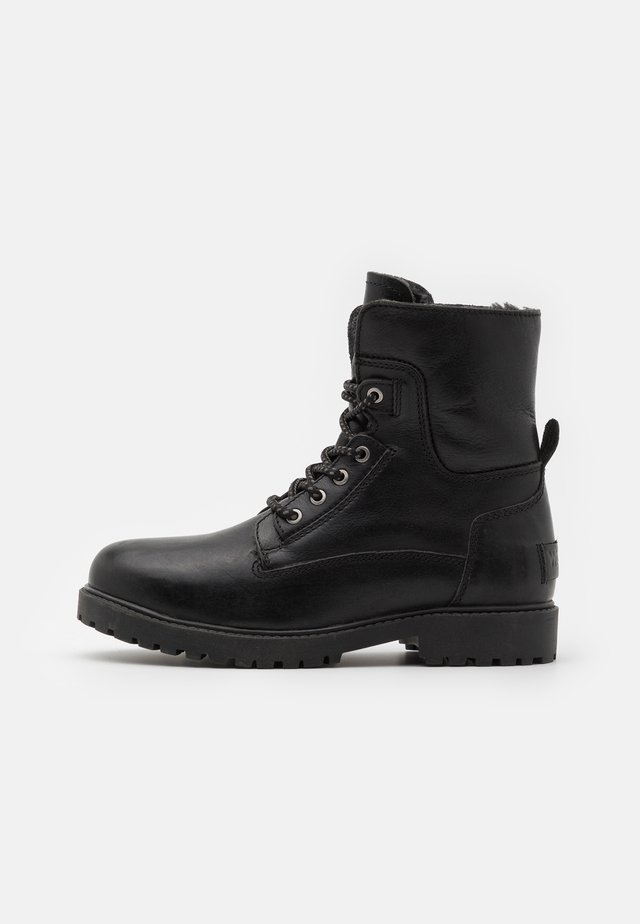 AVIATOR - Lace-up ankle boots - black