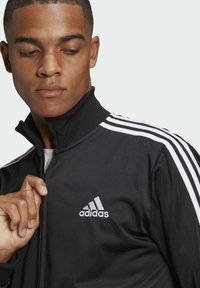 adidas Performance - Tracksuit - top:black/white bottom:black/white - 4