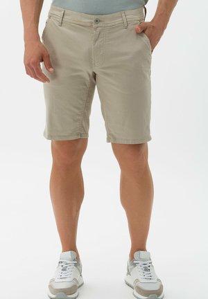 BENNET - Denim shorts - sand