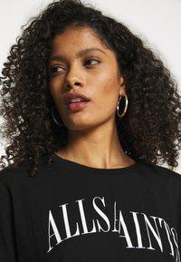 AllSaints - DROPOUT MIC - Print T-shirt - black - 4