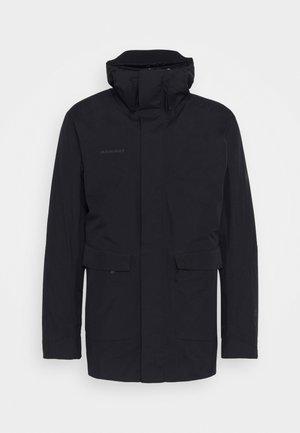 ROSEG 3 IN 1 HOODED MEN - Hardshell jacket - black/black