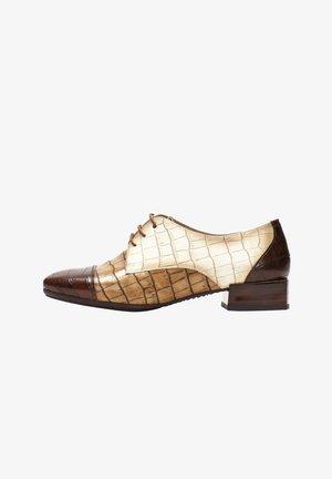 ANETO - Elegantní šněrovací boty - multi