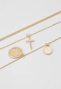 Topshop - FRCOIN CROSS  - Necklace - gold-coloured - 2
