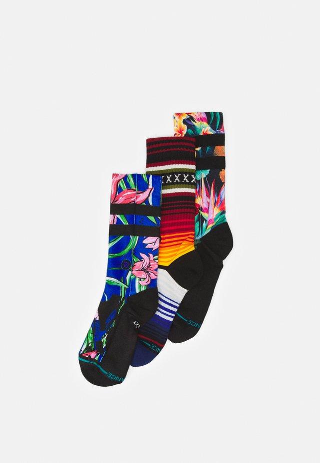 WAIPOUA 3 PACK - Calcetines - multi coloured