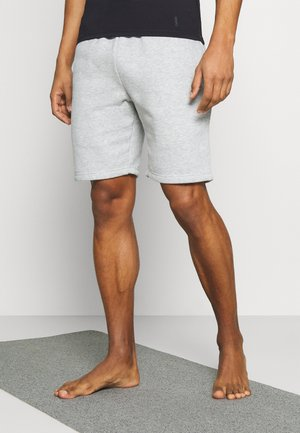 SHORTS - Sports shorts - lightgrey melange