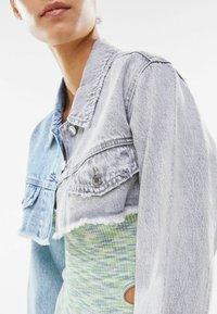 Bershka - Denim jacket - light-blue denim - 3