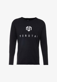 MOROTAI - BONDED LONGSLEEVE - Long sleeved top - black - 4