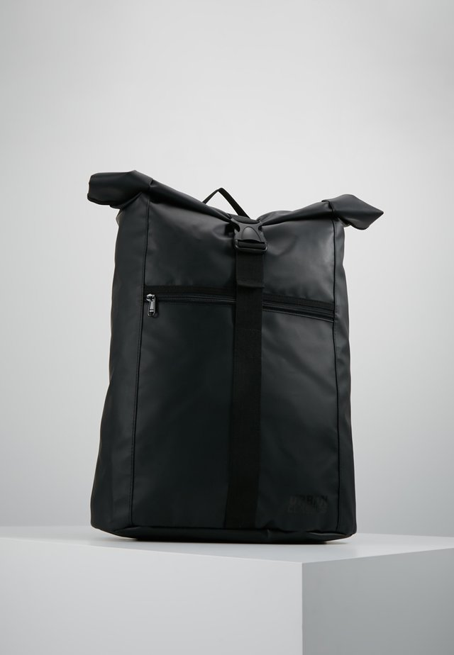 FOLDED MESSENGER BACKPACK  - Batoh - black