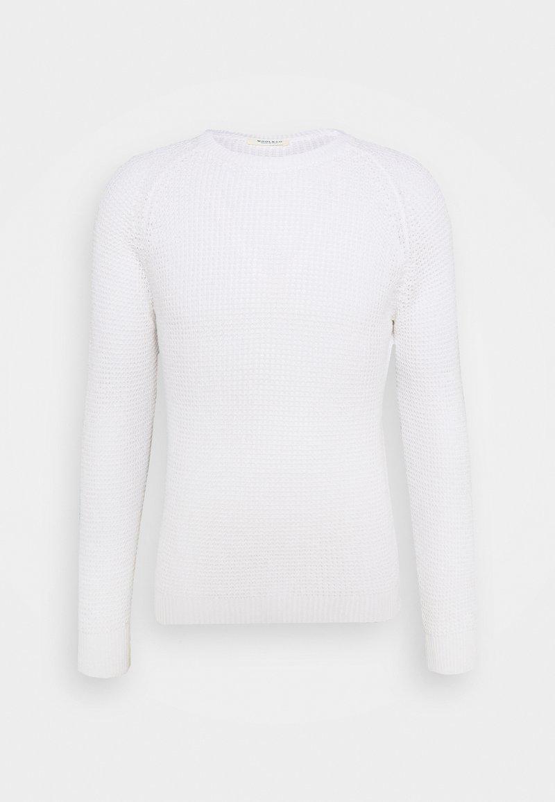 Wool & Co - STRUCTURE - Maglione - white