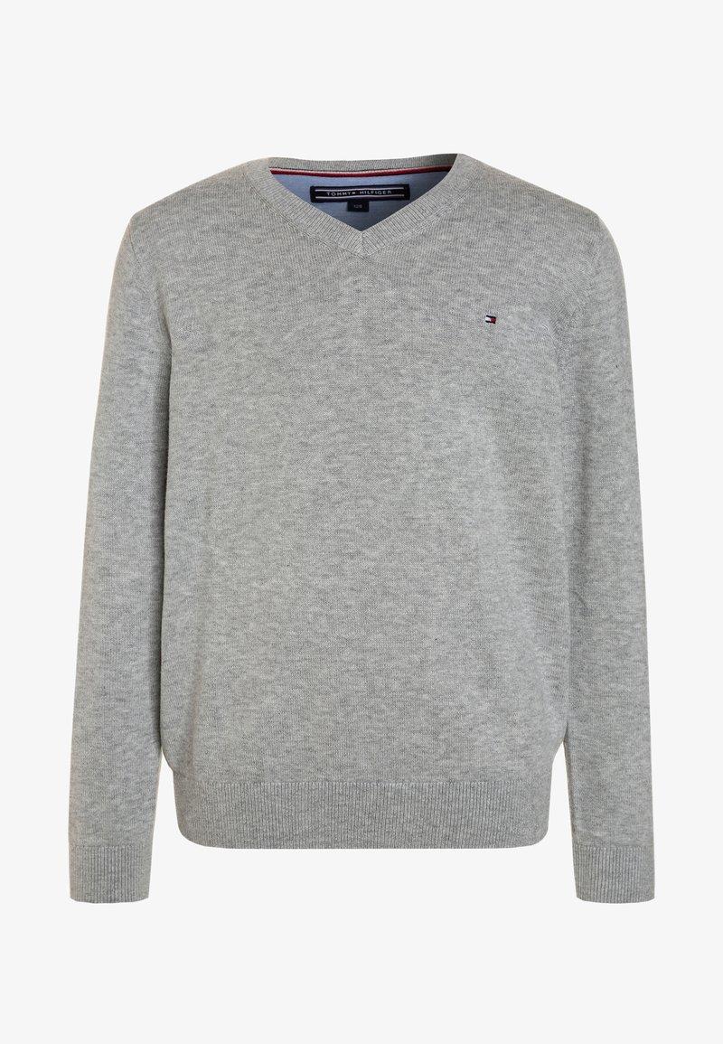 Tommy Hilfiger - BOYS BASIC - Pullover - grey heather