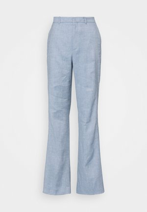 BYDE - Trousers - blau