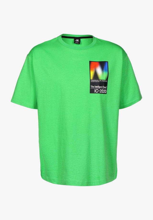 T-shirt med print - acidgrn