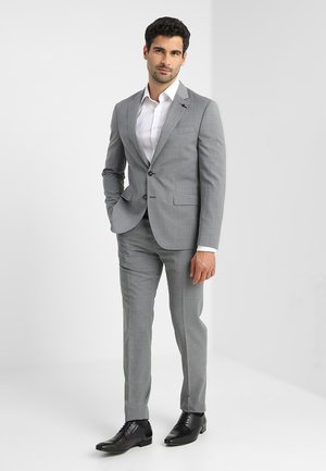 SLIM FIT SUIT - Garnitur - grey