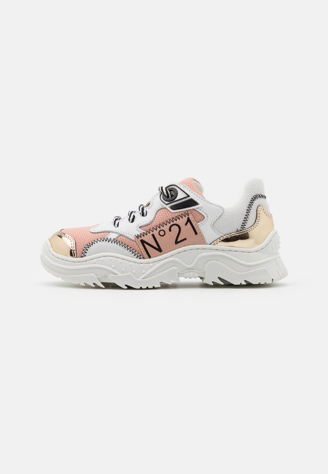 Sneakers laag - white/light pink