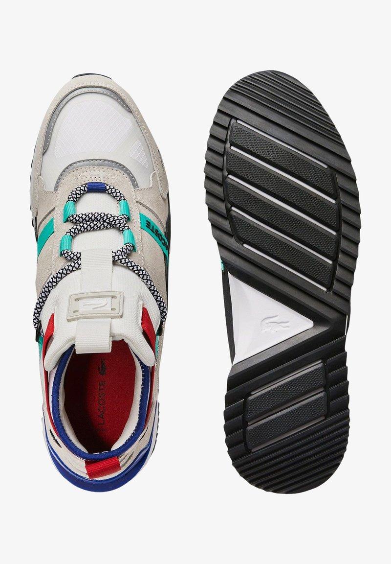 Lacoste - RUN BREAKER - High-top trainers - wht/trqs wht/trqs