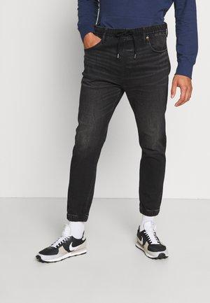 JOGGER - Jeans Tapered Fit - rocker black