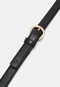 Trussardi - NARROW BELT - Belt - black - 2