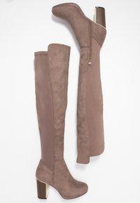 Anna Field - High heeled boots - sand - 3