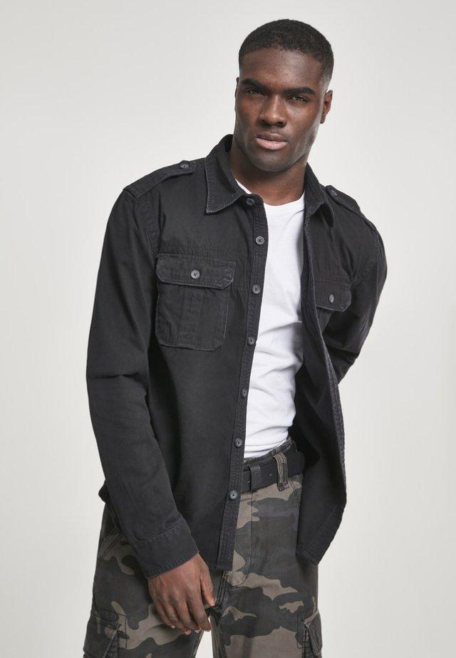 VINTAGE  - Overhemd - black