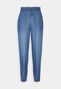 TOM TAILOR DENIM - HAREMS PANTS - Trousers - used light stone blue - 0