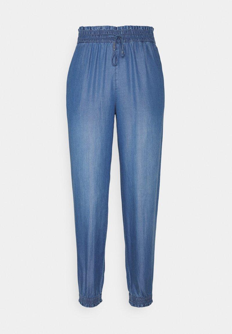 TOM TAILOR DENIM - HAREMS PANTS - Trousers - used light stone blue