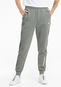 Puma - BMW M MOTORSPORT  - Tracksuit bottoms - medium gray heather - 0