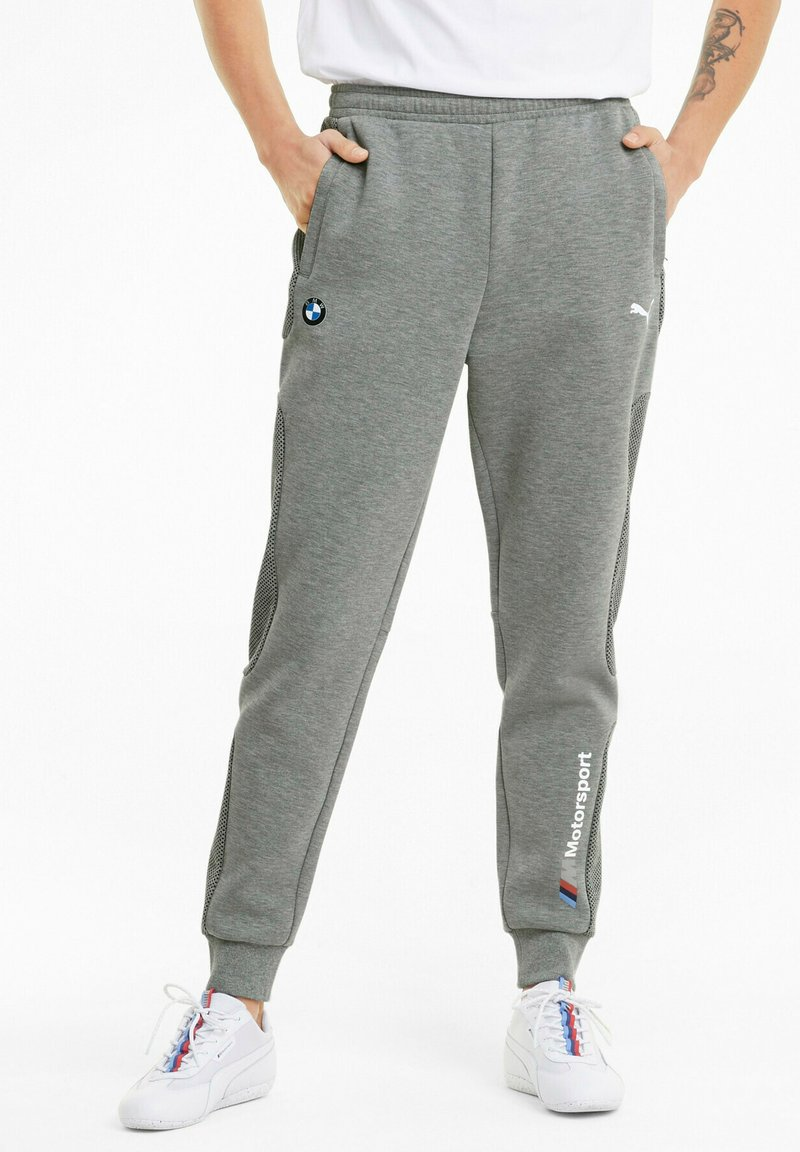 Puma - BMW M MOTORSPORT  - Tracksuit bottoms - medium gray heather