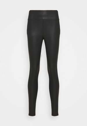 PRISCILLA - Leggings - Trousers - matte black
