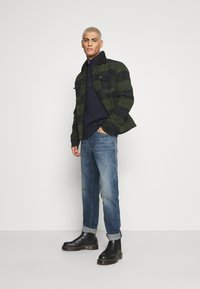 Wrangler - WOOL MIX  SHERPA JACKET - Light jacket - rifle green - 1