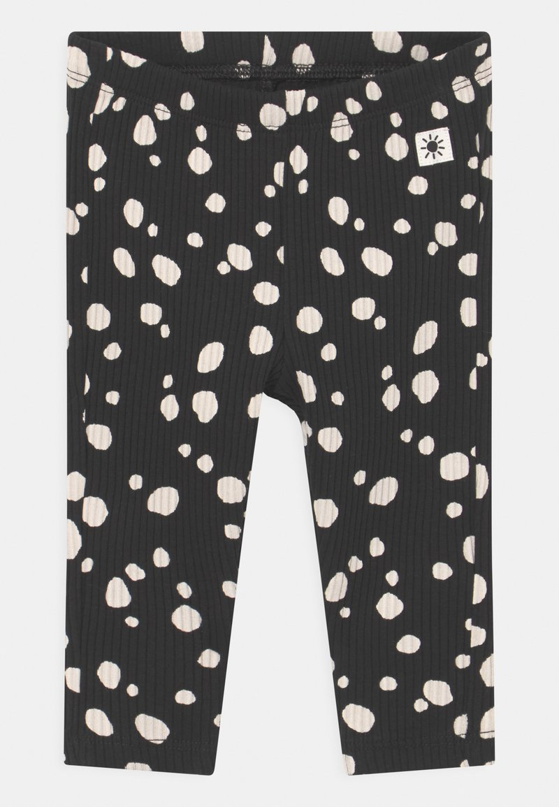 Lindex - BASIC DOTS UNISEX - Leggings - Trousers - off black