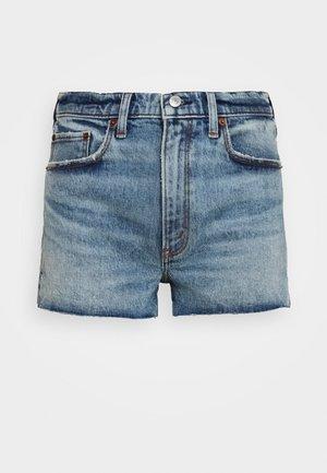PRIDE FLIP SEQUIN - Denim shorts - medium destroy