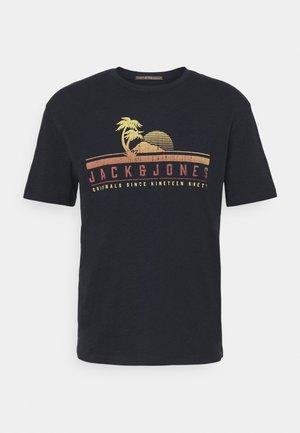 JORLAGUNA TEE CREW NECK - T-shirt con stampa - navy blazer