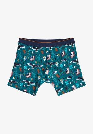 MET DESSIN - Pants - turquoise
