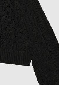 LMTD - NLFDREW SHORT O NECK - Jumper - black - 2