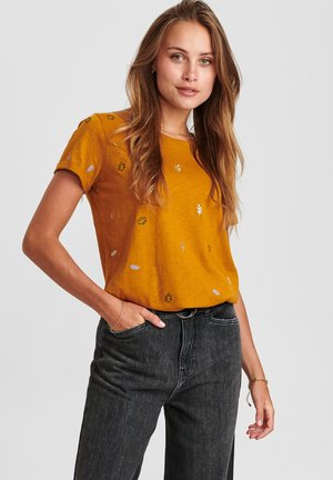 Print T-shirt - cathay spice