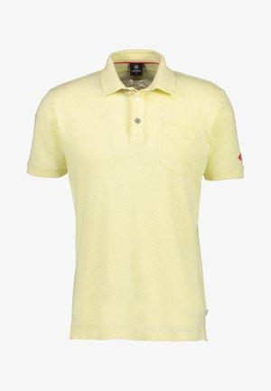 Polo shirt - pale yellow
