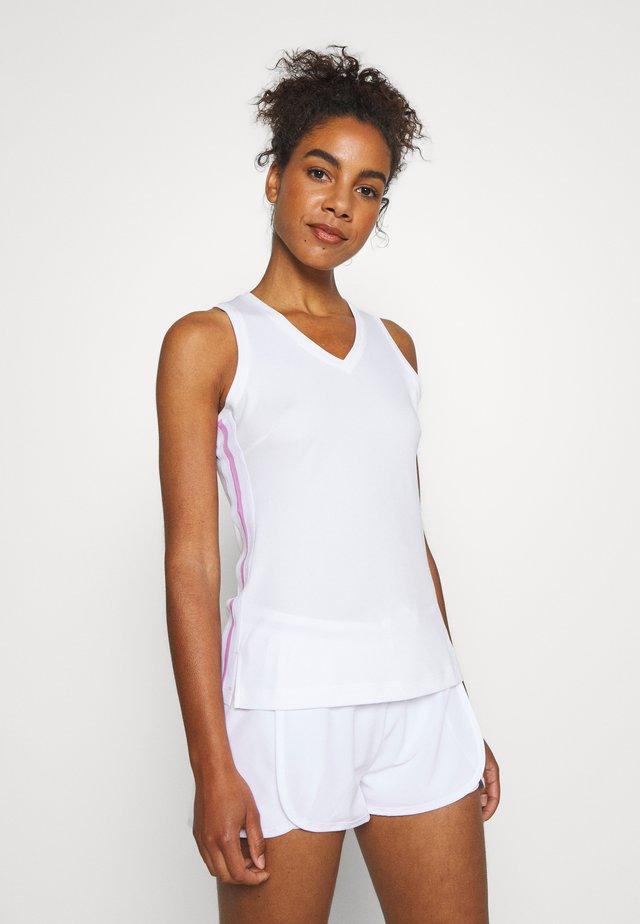 TALA TANK - Sports shirt - brilliant white