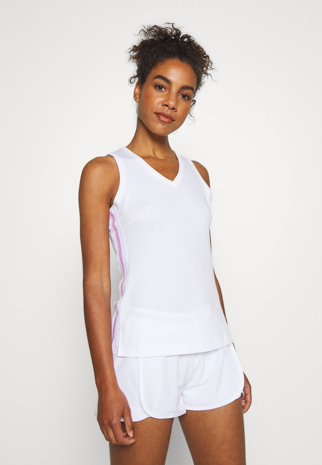 TALA TANK - Tekninen urheilupaita - brilliant white