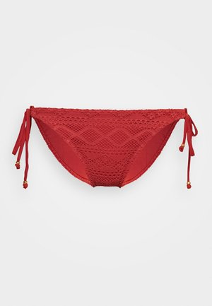 SUNDANCE RIO TIESIDE BRIEF - Bikini bottoms - burnt amber