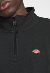 Dickies - OAKPORT QUARTER ZIP - Sweatshirt - black - 4