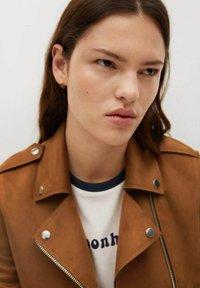 Mango - SEUL - Faux leather jacket - braun - 4
