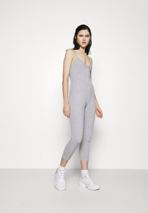 SEAM DETAIL UNITARD - Jumpsuit - grey