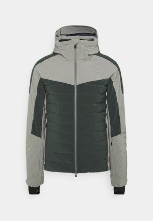 MEN SIGHT LINE JACKET - Ski jas - dark jet green/metal grey